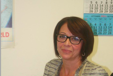 Iris Lauriola (foto tratta dal sito ufficiale della della della CONFSAL-UNSA ESTERI